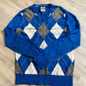 Men's Express argyle sweater